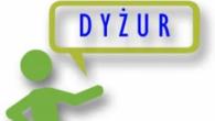 Dzisiejszy dyżur doradczy w Dolnośląskim Punkcie Doradczym w Lubinie zostaje przełożony na poniedziałek tj. 01 października w godz. 14-19. Zapraszamy !