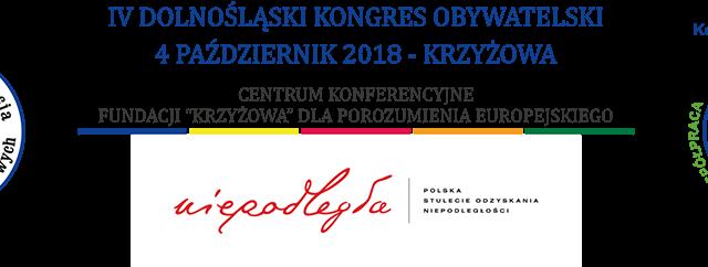 IV Dolnośląski Kongres Obywatelski, 4 październik 2018 r. w Krzyżowej k. Świdnicy